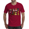 Awesome Funny Cute Assorted Pets Abstract Art Mens T-Shirt