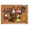 Awesome Funny Cute Assorted Pets Abstract Art Tablet