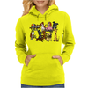 Awesome Funny Cute Assorted Pets Abstract Art Womens Hoodie