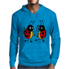 Awesome Funny Dancing Ladybugs Art Mens Hoodie