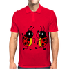 Awesome Funny Dancing Ladybugs Art Mens Polo