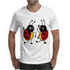 Awesome Funny Dancing Ladybugs Art Mens T-Shirt