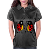 Awesome Funny Dancing Ladybugs Art Womens Polo