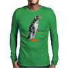 Awesome Funny Emperor Penguin Art Mens Long Sleeve T-Shirt
