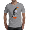 Awesome Funny Emperor Penguin Art Mens T-Shirt
