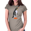 Awesome Funny Emperor Penguin Art Womens Fitted T-Shirt