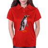 Awesome Funny Emperor Penguin Art Womens Polo