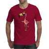 Awesome Funny Flamingo Wearing Sunglasses Mens T-Shirt