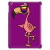Awesome Funny Flamingo Wearing Sunglasses Tablet