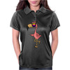 Awesome Funny Flamingo Wearing Sunglasses Womens Polo