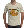 Awesome Funny Funky Sloth Cartoon Mens T-Shirt