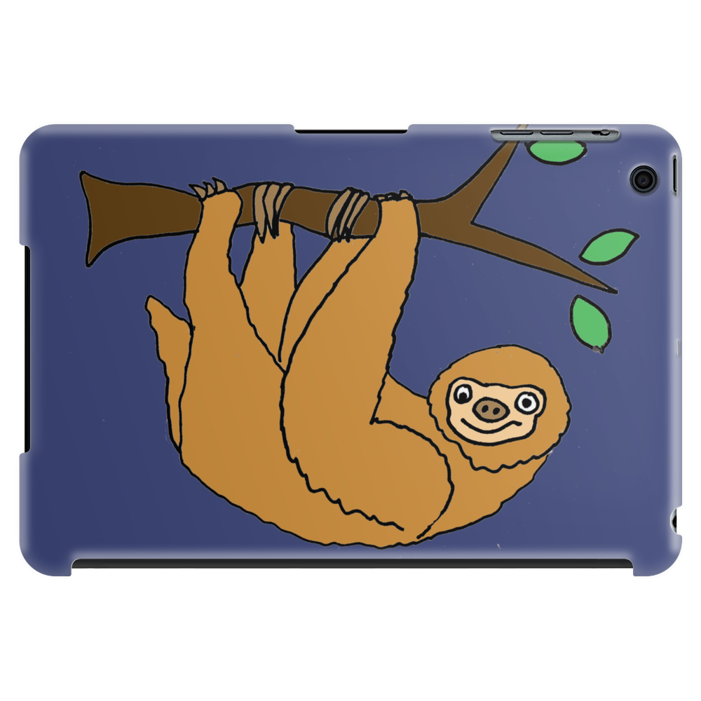 Awesome Funny Funky Sloth Cartoon Tablet