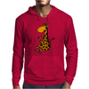 Awesome Funny Giraffe doing Yoga Mens Hoodie
