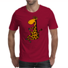 Awesome Funny Giraffe doing Yoga Mens T-Shirt