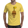 Awesome Funny Giraffe in Ice Cream Cone Mens T-Shirt