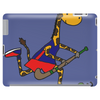 Awesome Funny Giraffe Playing Field Hockey Tablet