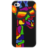 Awesome Funny Giraffe Wearing Sunglasses Abstract Art Phone Case