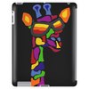 Awesome Funny Giraffe Wearing Sunglasses Abstract Art Tablet