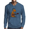 Awesome Funny Goat Playing Banjo Mens Hoodie