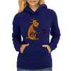 Awesome Funny Goat Playing Banjo Womens Hoodie