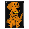 Awesome Funny Golden Retriever with Beer Bottle Tablet