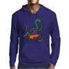 Awesome Funny Green Brontosaurus Dinosaur Jogging Mens Hoodie