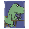 Awesome Funny Green T-rex Dinosaur Playing Cards Tablet