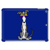 Awesome Funny Grey and White Greyhound Dog in Sunglasses Tablet