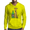 Awesome Funny Greyhound Dog Drinking Beer Mens Hoodie