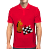 Awesome Funny Horse Playing Chess Art Mens Polo