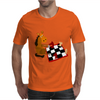 Awesome Funny Horse Playing Chess Art Mens T-Shirt