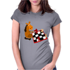 Awesome Funny Horse Playing Chess Art Womens Fitted T-Shirt