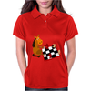 Awesome Funny Horse Playing Chess Art Womens Polo