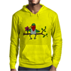 Awesome Funny Hummingbird Sipping Nectar with Straw Art Mens Hoodie