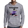 Awesome Funny Jogging Vulcan Cartoon Mens Hoodie