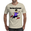 Awesome Funny Jogging Vulcan Cartoon Mens T-Shirt