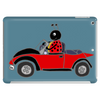 Awesome Funny Ladybug Driving Red and Black Bug Convertible Tablet