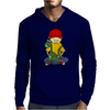 Awesome Funny Little Boy Hugging Pet Dinosaur Mens Hoodie