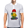 Awesome Funny Little Boy Hugging Pet Dinosaur Mens Polo