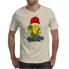 Awesome Funny Little Boy Hugging Pet Dinosaur Mens T-Shirt