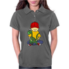 Awesome Funny Little Boy Hugging Pet Dinosaur Womens Polo
