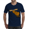 Awesome Funny Moose Cartoon Mens T-Shirt