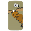 Awesome Funny Moose Cartoon Phone Case