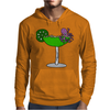 Awesome Funny Octopus in Margarita Mens Hoodie