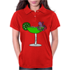 Awesome Funny Octopus in Margarita Womens Polo