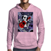Awesome Funny Old English Sheepdog Playing Guitar Abstract Art Mens Hoodie