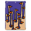 Awesome Funny Ostriches in the Sand Abstract Tablet