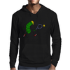 Awesome Funny Pickle Playing Tennis Cartoon Mens Hoodie