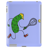 Awesome Funny Pickle Playing Tennis Cartoon Tablet