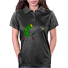 Awesome Funny Pickle Playing Tennis Cartoon Womens Polo
